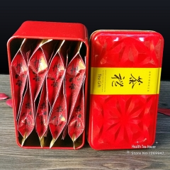 AAAAA Non-smoked Flavor Lapsang Souchong Black Tea Chinese Food Red Tea 8 Bags 40g In Total With Gift Box Packing