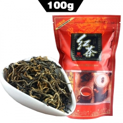 Top Grade Dian Hong Famous Yunnan Black Tea Dianhong Imported-China Healthy Food Bag Package 100g premium quality tea