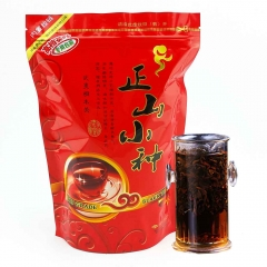Lapsang Souchong Black Tea Without Smoke Aroma Paulownia Smokehouse Chinese Food Red Tea Good For Stomach And Beauty Bag Packaging 250g premium qualit