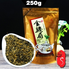 Chinese Tea JinJunMei Teas Golden Eyebrow Wuyi Black Tea High Quality 250g