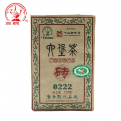Three Cranes Sanhe 2014 Liu Pao 0222 Chinese Tea Brick Tea China Hei Cha 250g