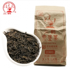 Three Cranes Sanhe 2015 Loose Liupao Tea 2301 Dark Tea Aged Tea 250g