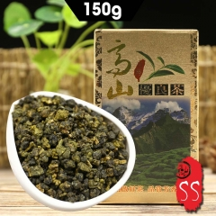 Fine Quality Taiwan Oolong High Mountain Tea 2020 Gaoshan Cha Taiwan Oolong Tea Box Packing 150g