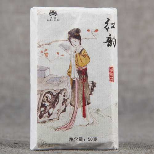 "2019 Chinese Tea Black Tea ""HongYun"" Yunnan Tea Red Dianhong 50g"