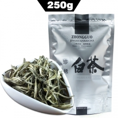 250g Silver Needle White Tea AAAAA Organic Bai Hao Yin Zhen, Chinese Anti-old Healthy Food Bag Packaging chinese beat green tea organic tea online