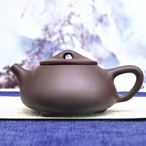Wu Liucai Personalized Teapot Filter Handmade Purple Clay Huanglong Mountain Raw Ore Purple Mud Tea Pot 270ml