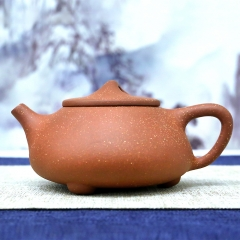 Teapot Filter Xu Baoguo Personalized Huanglong Mountain Raw Ore Dragon Blood Sand Handmade Purple Clay Tea Pot 260ml